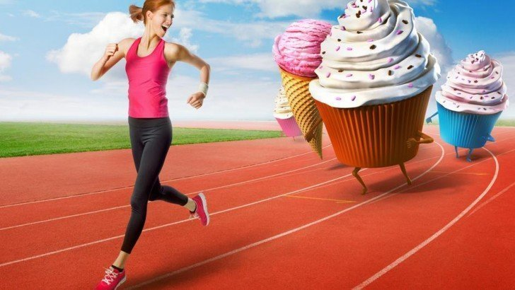 Exercise and say No to Sugar