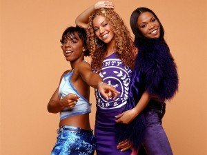 Kelly Rowland, Beyonce Knowles and Michelle Williams