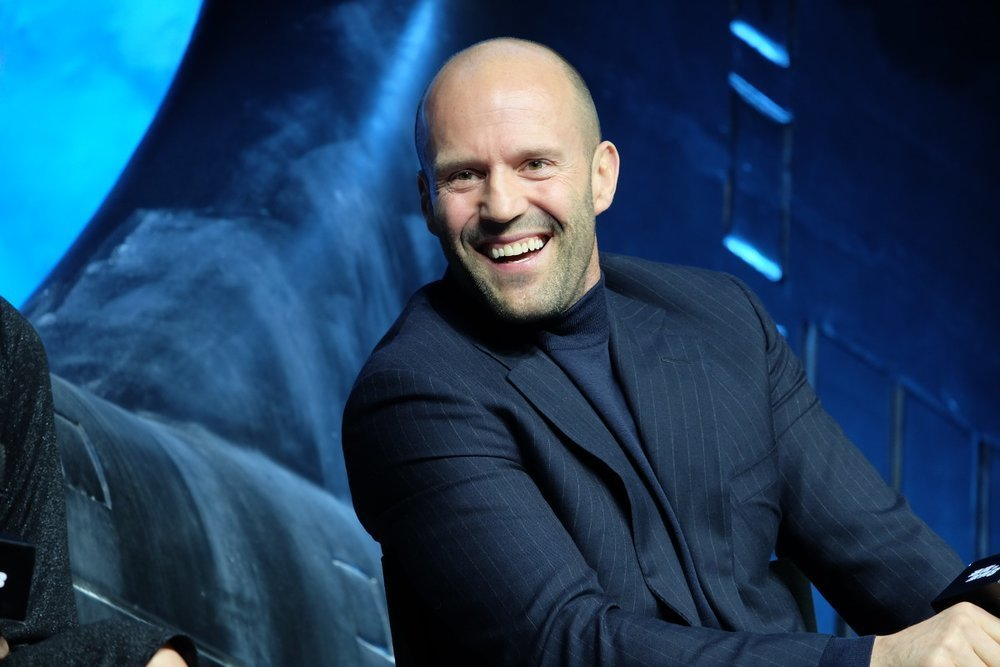 Statham became famous with his death-gripping driving skills both in movies and real life.