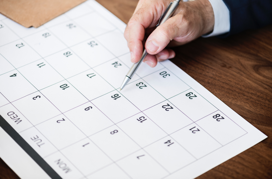 Fulfilling your financial goals doesn't have to start by January 1. You can set the date whenever you want.